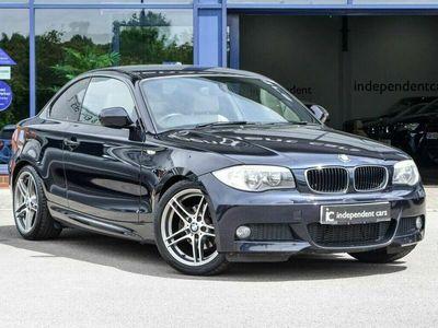 used BMW 120 Coupé 2.0 120D SPORT PLUS EDITION 2d 175 BHP