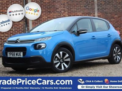 used Citroën C3 1.2 PURETECH FEEL 5d 68 BHP FREE DELIVERY WITHIN 1