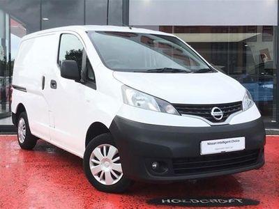 used Nissan NV200 1.5dCi (110 BHP) Acenta Crew Van