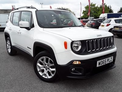 used Jeep Renegade 2016 Barugh Green 1.4 MULTIAIR LONGITUDE 5DR
