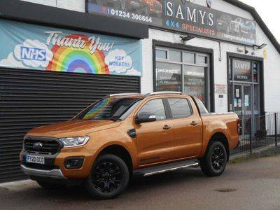 used Ford Ranger 2.0 EcoBlue Wildtrak Double Cab Pickup Auto 4WD (s/s) 4dr