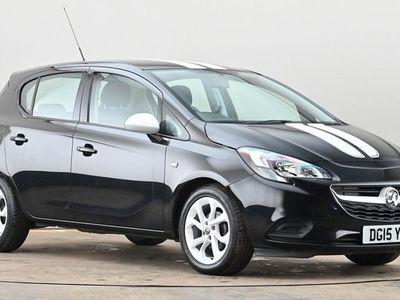 used Vauxhall Corsa 1.4 ecoFLEX Sting 5dr Black Manual Petrol