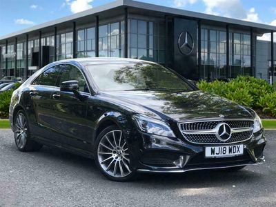 used Mercedes CLS220 CLS ClassAmg Line 4Dr 7G-Tronic Coupe 2018