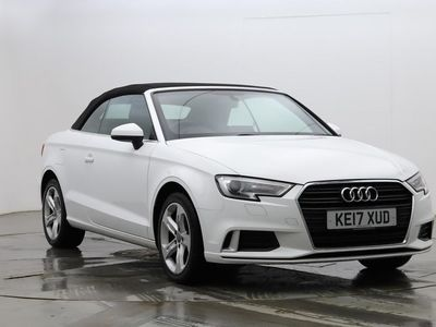 used Audi A3 Cabriolet 1.5 TFSI Sport 2dr