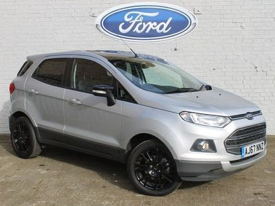 used Ford Ecosport 2018 St. Neots 1.0 EcoBoost 140 Titanium S 5dr