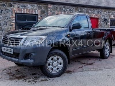 used Toyota HiLux HL2 D-4D 4X4 S/C