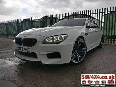 used BMW M6 M6 4.4GRAN COUPE 4d 553 BHP 01937 849492 OPTION 1