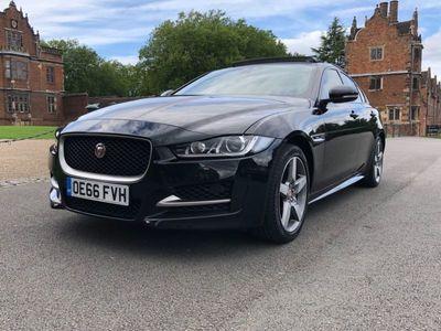 used Jaguar XE 2.0d R-Sport Auto AWD (s/s) 4dr