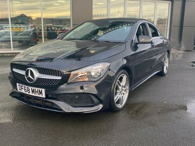 used Mercedes CLA200 CLAAMG Line Edition 4dr