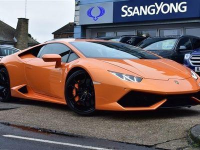 used Lamborghini Huracán 5.2