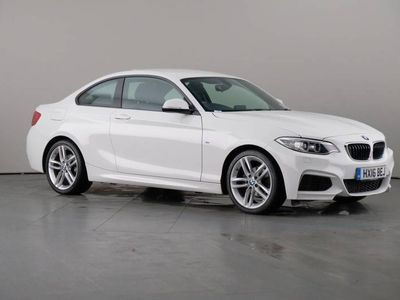 used BMW 218 2 Serie i Coupe 1.5 M Sport Steptronic Nav 2dr