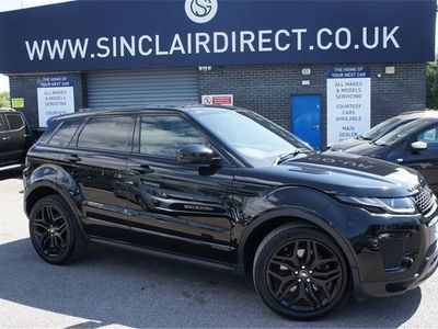used Land Rover Range Rover evoque SD4 HSE DYNAMIC 2.0 5dr