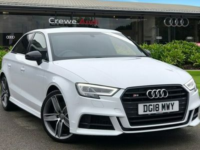 used Audi A3 S3 TFSI Quattro Black Edition 4dr S Tronic