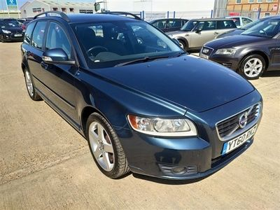 used Volvo V50 2.0 D4 SE 5d 175 BHP 9 STAMPS OF SERVICE HISTORY For More Info Call 01733 8