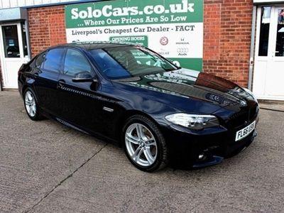 used BMW 520 5 SERIES 2.0 D M SPORT 4d AUTO 188 BHP