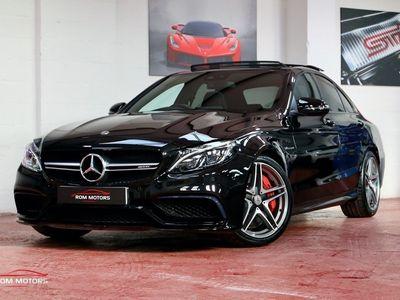 used Mercedes C63S AMG C Class AMGPREMIUM 4.0 4dr