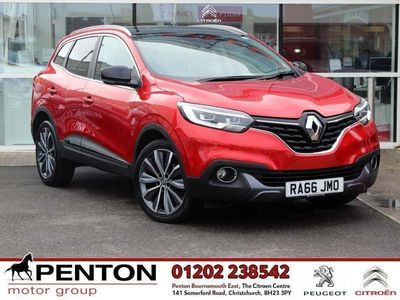 used Renault Kadjar 1.5 dCi Signature S Nav EDC (s/s) 5dr - BOSE - SAFETY PK - £30 TAX ! 2016