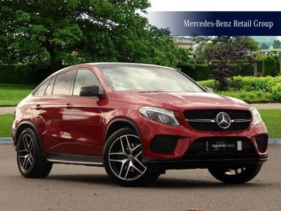 used Mercedes GLE350 GLE Coupe4Matic Designo Line 5Dr 9G-Tronic