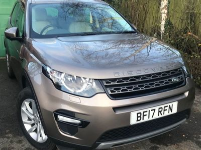 used Land Rover Discovery Sport 2.0 TD4 SE Tech Auto 4WD (s/s) 5dr 7 Seat
