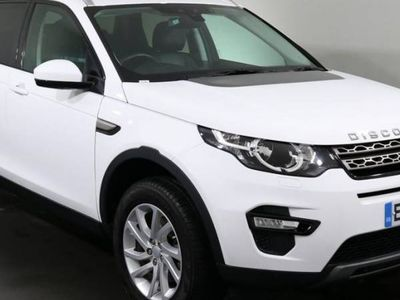used Land Rover Discovery Sport 2.0 TD4 SE TECH 5d 180 BHP ULEZ EXEMPT