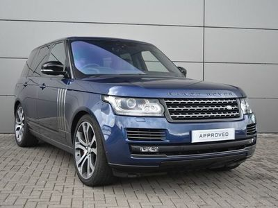 used Land Rover Range Rover V8 SVAUTOBIOGRAPHY DYNAMIC SUV 5dr PETROL AUTOMATIC 299 g/km 543.0 BHP