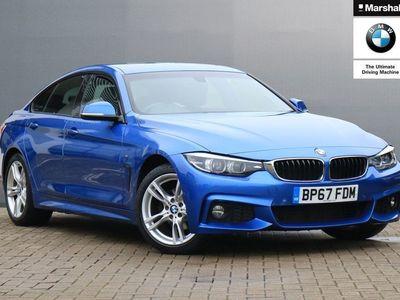 used BMW 420 4 SERIES 2018 Poole i M Sport 5dr Auto [Professional Media]