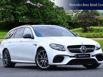 used Mercedes E63 AMG E-Class4Matic+ Premium 5dr 9G-Tronic