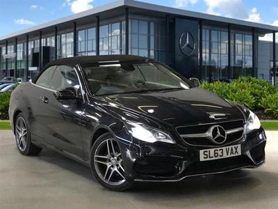 used Mercedes E220 E CLASS DIESEL CABRIOLETCDI AMG Sport 2dr 7G-Tronic