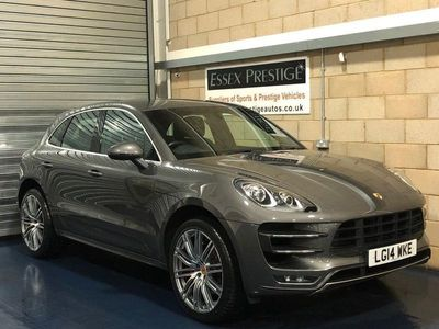 used Porsche Macan Turbo 3.6T SUV 5dr Petrol PDK 4WD (s/s) (400 ps)