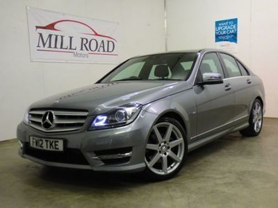 used Mercedes C220 C ClassCDI BLUEEFFICIENCY AMG SPORT- OUTSTANDING EXAMPLE 2.2 4dr