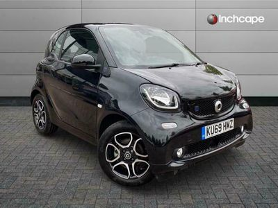 used Smart ForTwo Electric Drive COUPE 60kW EQ Prime Prem Plus 17kWh 2dr Auto [22kWCh]