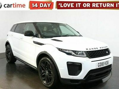 used Land Rover Range Rover evoque 2.0 TD4 HSE DYNAMIC 5d 177 BHP Your dream car can become a reality with cartime's fantastic finance deals.