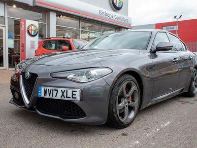 used Alfa Romeo Giulia 2017 Slyfield Industrial Estate TD SPECIALE