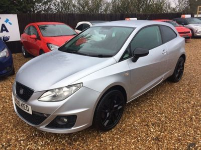 used Seat Ibiza 1.4 TSI FR SportCoupe 3dr Petrol DSG (146 g/km, 148 bhp)