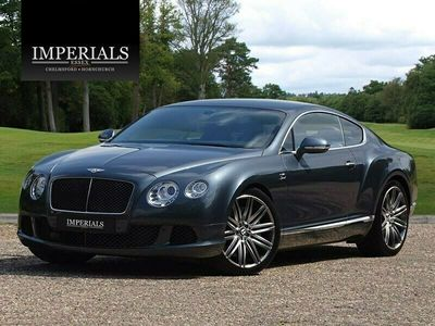 used Bentley Continental GT SPEED W12 COUPE AUTO Coupe 2013
