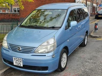 used Nissan Serena  2002, not known, 114745 miles.
