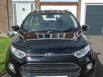 used Ford Ecosport 1.5 TDCi Titanium X (X Pack) 5dr