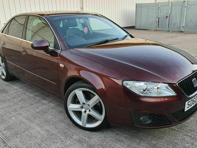 used Seat Exeo 2.0 TDI CR SE Lux 4dr