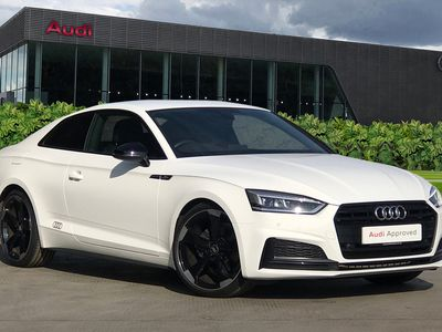 used Audi A5 Coup- Black Edition 35 TFSI 150 PS S tronic
