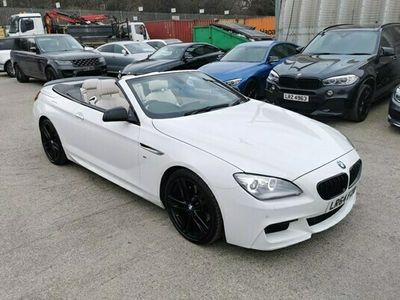 used BMW 640 6-Series Convertible d M Sport 2d Auto