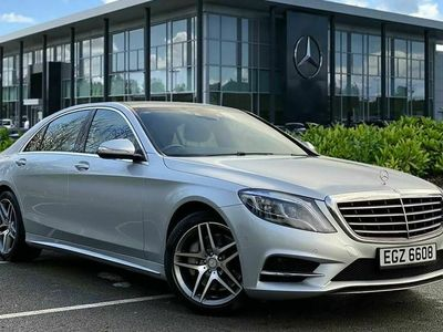 used Mercedes S350 D L AMG LINE