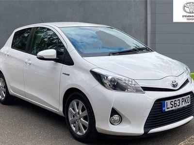 used Toyota Yaris 1.5 VVT-i Hybrid T4 5dr CVT