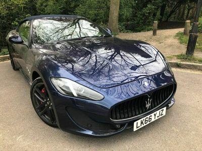 used Maserati GranCabrio 4.7 V8 Sport MC Shift 2dr