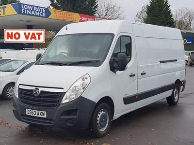 used Vauxhall Movano 2.3 CDTi 3500 Panel Van 5dr Diesel Manual FWD L3 H2 EU5 (100 ps)
