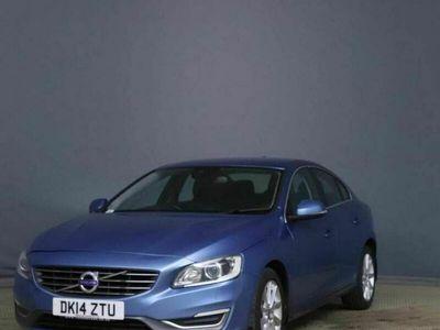 used Volvo S60 2.0 D4 SE Lux Nav (s/s) 4dr