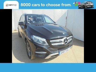 used Mercedes GLE250 GLE4Matic Sport 5dr 9G-Tronic Black Automatic Diesel