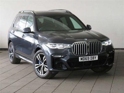 used BMW X7 Xdrive30D M Sport 5Dr Step Auto