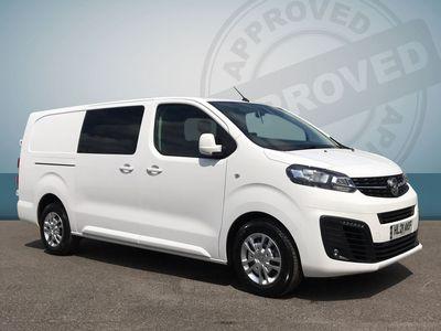 used Vauxhall Vivaro D/cab Sportive L2h1 2.0d 120 3.1t Van