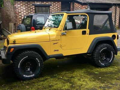 used Jeep Wrangler 2.5 Sport Soft top 4x4 3dr
