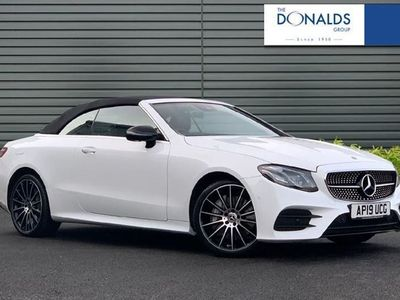used Mercedes E50 AMG E-Class4Matic AMG Line 2dr 9G-Tronic